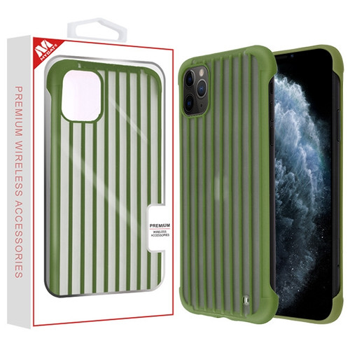 MyBat Suitcase Frost Protective Case for Apple iPhone 11 Pro - Green