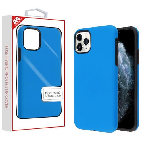 MyBat Fuse Hybrid Protector Cover for Apple iPhone 11 Pro - Rubberized Dark Blue / Black