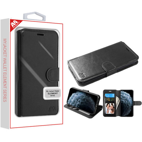 MyBat MyJacket Wallet Element Series for Apple iPhone 11 Pro - Black