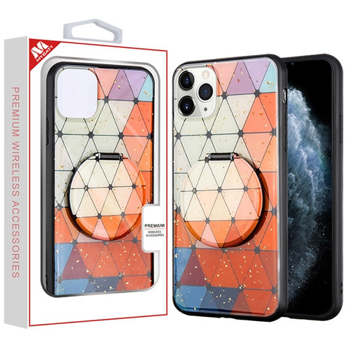 MyBat Mirror Hybrid Case for Apple iPhone 11 Pro - Triangle Squad