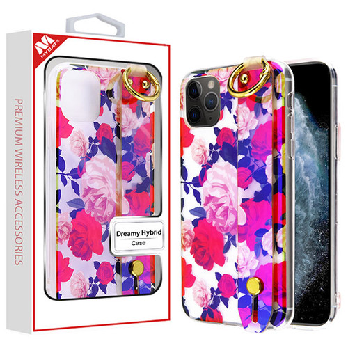 MyBat Dreamy Hybrid Case (With Wristband Stand) for Apple iPhone 11 Pro - Romantic Roses