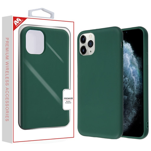MyBat Liquid Silicone Protector Cover for Apple iPhone 11 Pro - Midnight Green