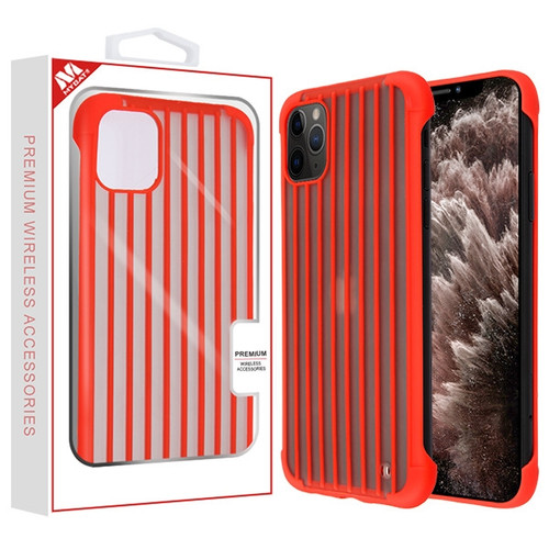 MyBat Suitcase Frost Protective Case for Apple iPhone 11 Pro Max - Red
