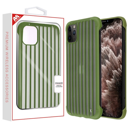 MyBat Suitcase Frost Protective Case for Apple iPhone 11 Pro Max - Green