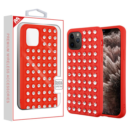 MyBat Dazzling Diamond Candy Case for Apple iPhone 11 Pro Max - Red