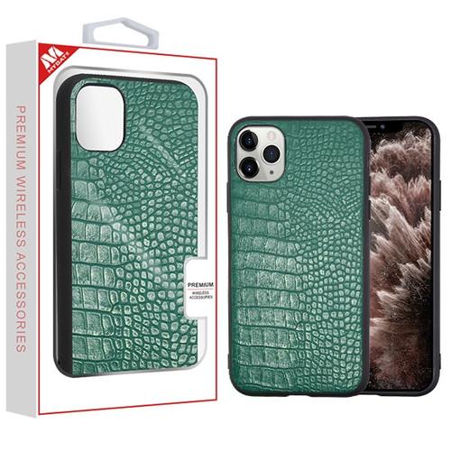MyBat Crocodile Skin Executive Protector Cover for Apple iPhone 11 Pro Max - Green