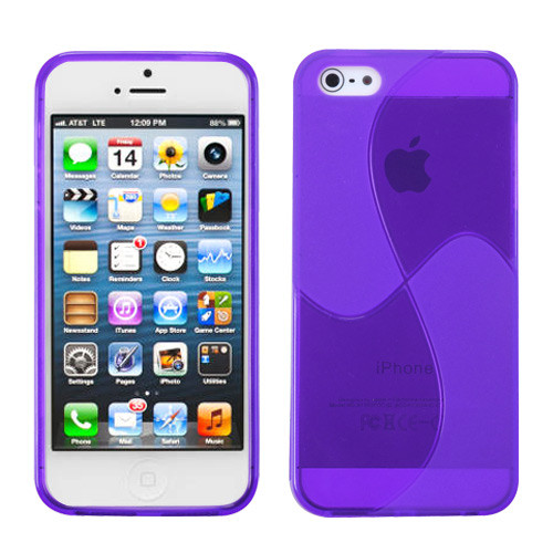 MyBat Windmill Candy Skin Cover for Apple iPhone 5s/5 - Purple