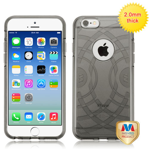 MyBat ECHO Premium Candy Skin Cover for Apple iPhone 6s/6 - Glassy Transparent Gray