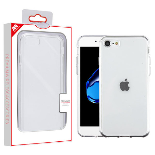 MyBat Candy Skin Cover for Apple iPhone 8/7 - Glossy Transparent Clear