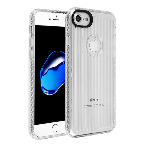MyBat Suitup Candy Skin Cover for Apple iPhone 8/7 - Transparent Clear