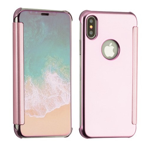 MyBat High-gloss Executive Protector Cover for Apple iPhone XS/X - Rose Gold Electroplating
