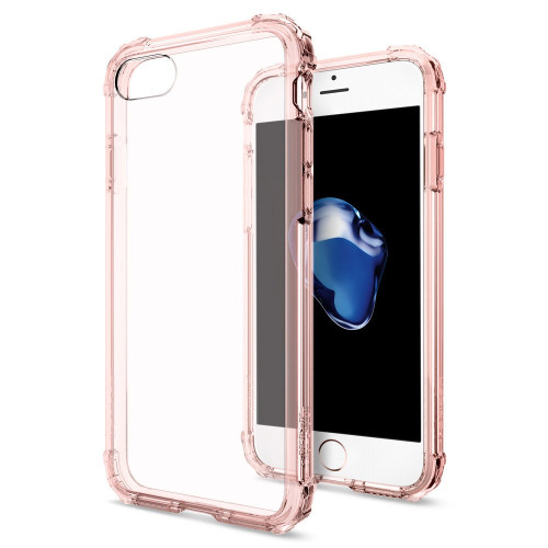 Apple iPhone 7  /  iPhone 8 Spigen Crystal Shell Case - Rose Crystal