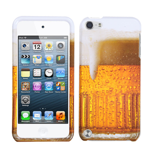 MyBat Protector Cover for Apple iPod touch (5th generation) - Beer - Food Fight Collection