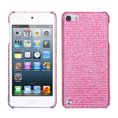MyBat Diamante Back Protector Cover for Apple iPod touch (5th generation) - Pink
