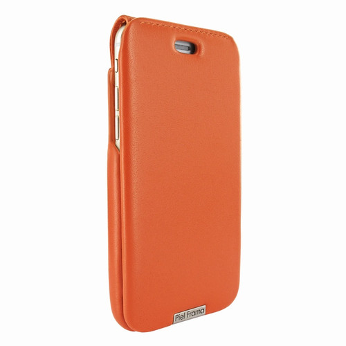 Piel Frama 770 Orange UltraSliMagnum Leather Case for Apple iPhone 7 / 8