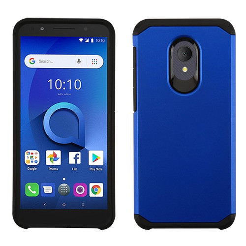 Asmyna Astronoot Protector Cover for Alcatel 1X Evolve - Blue / Black