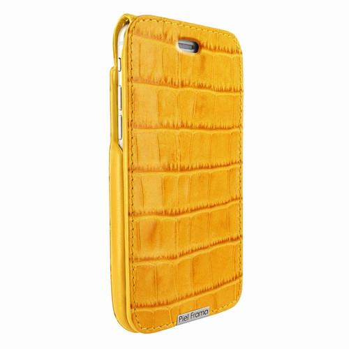 Piel Frama 770 Yellow Crocodile UltraSliMagnum Leather Case for Apple iPhone 7 / 8