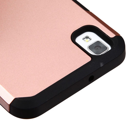Asmyna Astronoot Protector Cover for Lg LS676 (X STYLE) - Rose Gold / Black