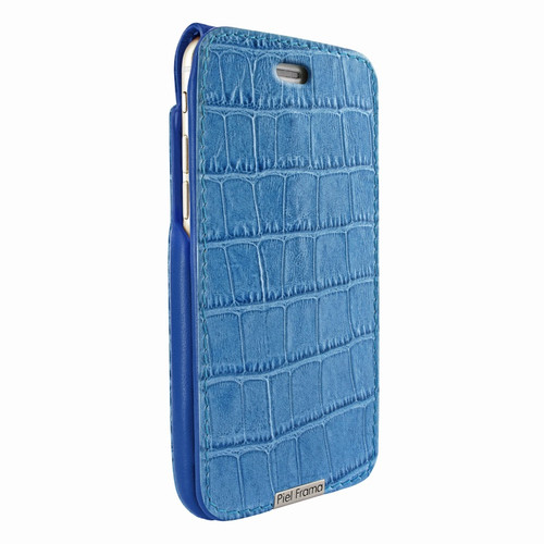 Piel Frama 771 Blue Crocodile UltraSliMagnum Leather Case for Apple iPhone 7 Plus / 8 Plus