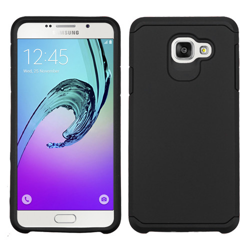 Asmyna Astronoot Protector Cover for Samsung A710 Galaxy A7 (2016) - Black / Black