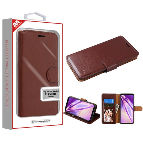 MyBat MyJacket Wallet Element Series for Google Pixel 4 XL - Brown