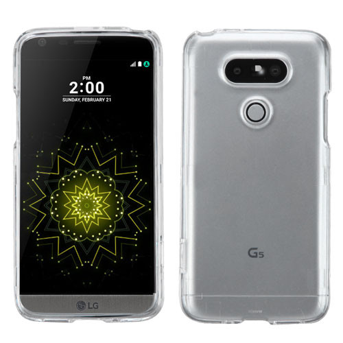 MyBat Protector Cover for Lg G5 - Transparent Clear