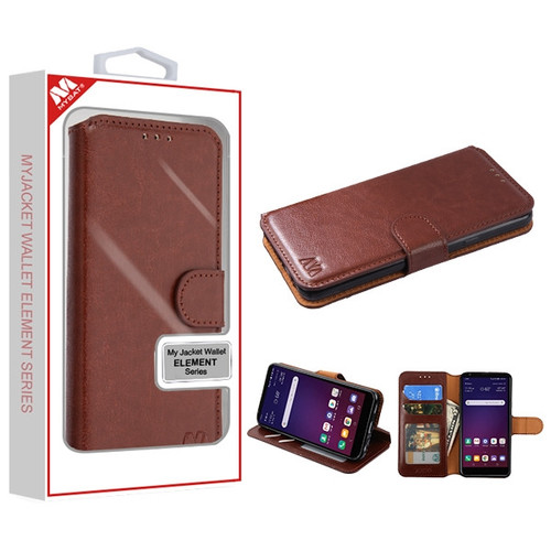 MyBat MyJacket Wallet Element Series for Lg X320 (Escape Plus) - Brown