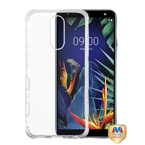 MyBat TUFF Klarity Lux Candy Skin Cover for Lg K40 - Transparent Clear