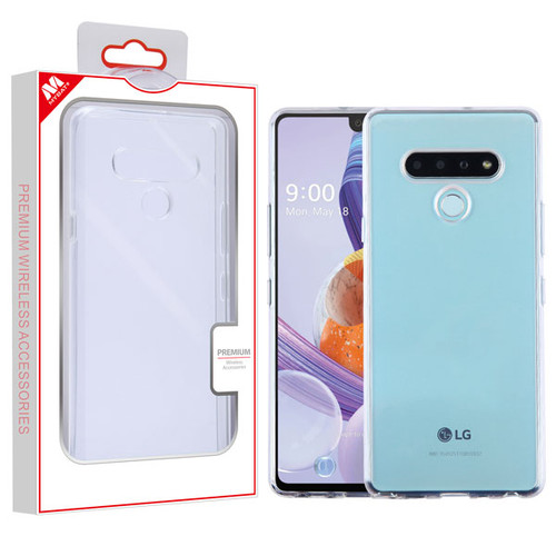 MyBat Candy Skin Cover for Lg Stylo 6 - Glossy Transparent Clear