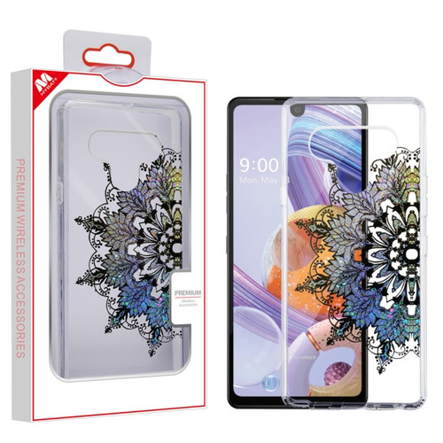 MyBat Fusion Protector Cover for Lg Stylo 6 - Transparent Classical Hot Color