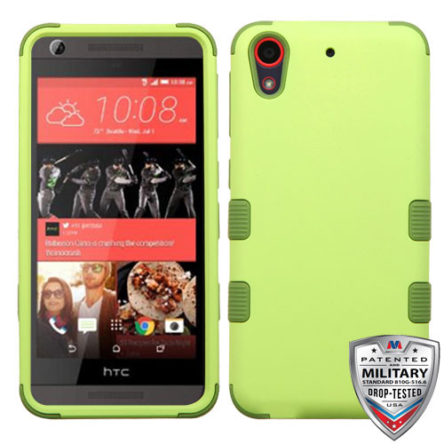 MyBat TUFF Hybrid Protector Cover [Military-Grade Certified] for Htc Desire 626 - Green Tea / Olive Green