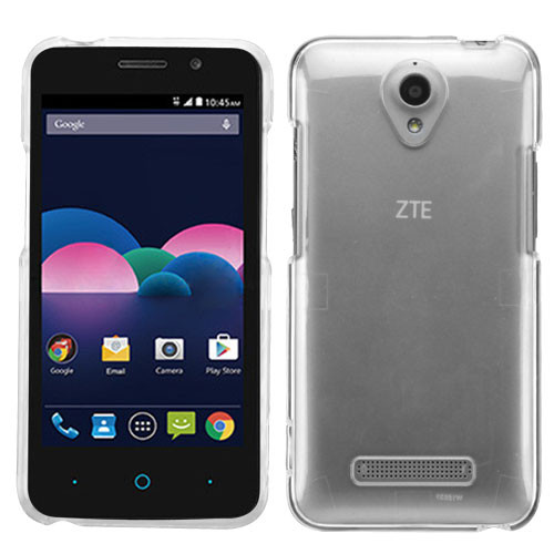 MyBat Protector Cover for Zte Z820 (Obsidian) - T-Clear