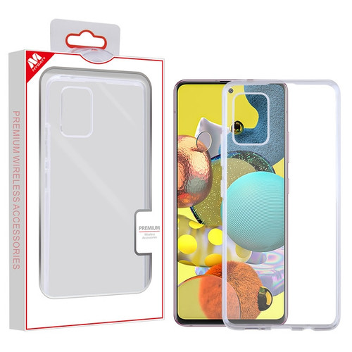 MyBat Candy Skin Cover for Samsung Galaxy A51 5G - Glossy Transparent Clear