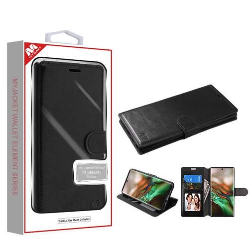 MyBat MyJacket Wallet Element Series for Samsung Galaxy Note 10 (6.3) - Black