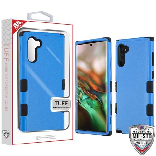 MyBat TUFF Hybrid Protector Cover [Military-Grade Certified] for Samsung Galaxy Note 10 (6.3) - Natural Dark Blue / Black