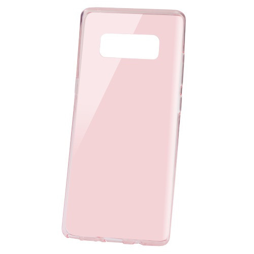 MyBat Candy Skin Cover for Samsung Galaxy Note 8 - Glossy Transparent Rose Gold
