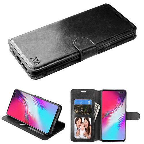 MyBat MyJacket Wallet Element Series for Samsung Galaxy S10 5G - Black