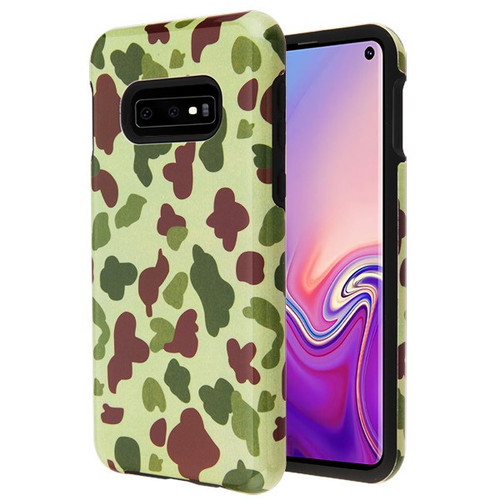 MyBat Fuse Hybrid Protector Cover for Samsung Galaxy S10E - Duck Camo / Black