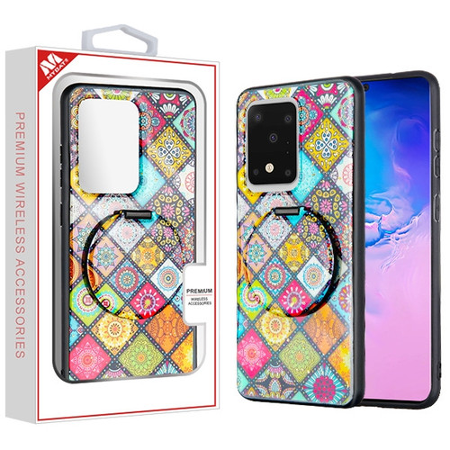 MyBat Mirror Hybrid Case for Samsung Galaxy S20 Ultra (6.9) - Mediterranean