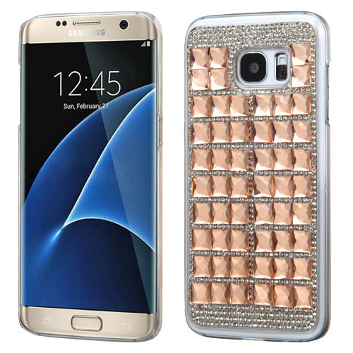 MyBat Desire Back Protector Cover for Samsung G935 (Galaxy S7 Edge) - Rose Gold