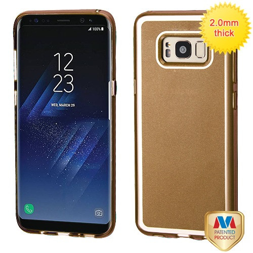 MyBat Premium Candy Skin Cover for Samsung Galaxy S8 - Gold