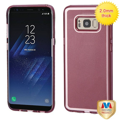 MyBat Premium Candy Skin Cover for Samsung Galaxy S8 Plus - Rose Gold