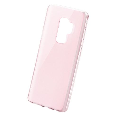 MyBat Candy Skin Cover for Samsung Galaxy S9 Plus - Glossy Transparent Rose Gold