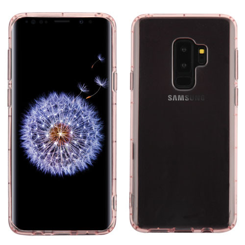 MyBat SPOTS Candy Skin Cover for Samsung Galaxy S9 Plus - Glassy Transparent Rose Gold