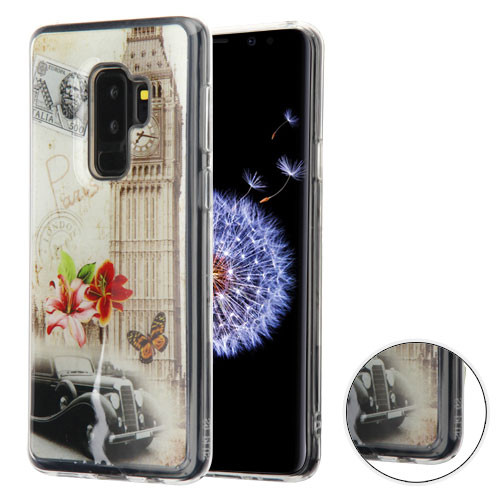 MyBat Krystal Gel Series Candy Skin Cover for Samsung Galaxy S9 Plus - Big Ben (Transparent Clear)