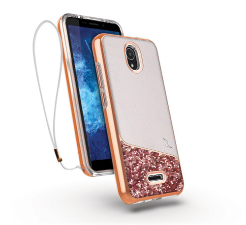 ZIZO DIVISION Series for Cricket Icon 2 Case - Sleek Modern Protection - Wanderlust DVS-CKIC2-WDL