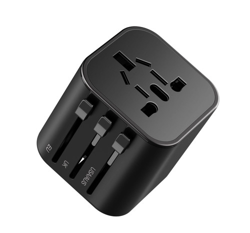 ZIZO World Travel Adapter UA101 3.4a - Black UNICH-UA101-BLK