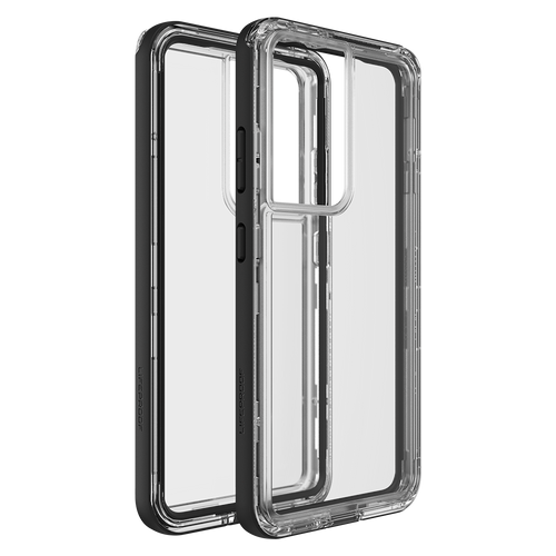 Lifeproof - Next Case for Samsung Galaxy S21 Ultra 5G - Black Crystal