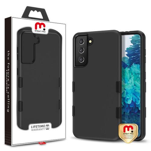 MyBat Pro TUFF Subs Hybrid Case for Samsung Galaxy S21 Plus - Rubberized Black / Black