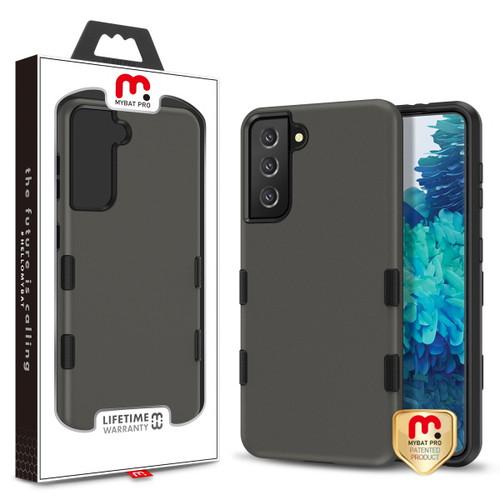 MyBat Pro TUFF Subs Hybrid Case for Samsung Galaxy S21 Plus - Rubberized Gunmetal Gray / Black